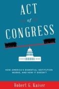 Chip Kidd Book Cover - Act of Congress Robert G Kaiser Book