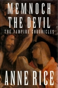 Chip Kidd Book Cover Jacket - Anne Rice Memnoch The Devil Vampire Chronicles Book