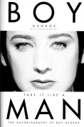 Chip Kidd Book Cover Jacket - BOY GEORGE Take it Like a Man Biography Book