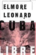 Chip Kidd Book Cover- Cuba Libre Elmore Leonard