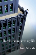 David Shields How Literature Saved My Life - Chip Kidd Book Cover Jacket