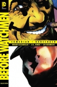 Chip Kidd Graphic Novel Book Cover - DC Comics BEFORE WATCHMEN Deluxe Edition Book 3