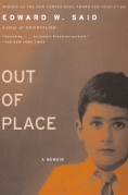 Chip Kidd Book Cover - Edward W Said Out of Place a Memoir Book