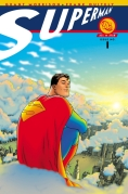 Book Cover- Grant Morrison All-Star Superman 1