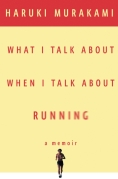 Chip Kidd Book Cover - Haruki Murakami What I Talk About When I Talk About Running Memoir Book