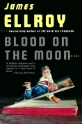 Chip Kidd Book Cover - James Ellroy Blood on the Moon Paperback L.A. Crime Noir Pulp Book