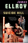 Chip Kidd Book Cover - James Ellroy Suicide Hill a Novel CRIME NOIR Pulp Book