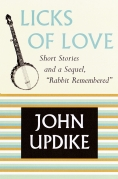 Chip Kidd Book Cover - John Updike Licks of Love Rabbit Remembered Book