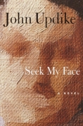 Chip Kidd Book Cover - John Updike Seek My Face a Novel Book