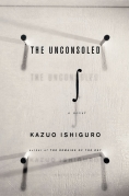 Chip Kidd Book Cover- Kazuo Ishiguro The Unconsoled a Novel Book