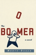Book Cover Jacket - Marty Asher The Boomer a Novel book