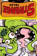 Chip Kidd Comic Book Cover- Marvel Comics Strange Tales HULK by Peter Bagge Chip Kidd