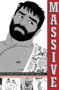 Massive Gay Erotic Manga and the Men who make it - Book Cover Jacket Designed by Chip Kidd