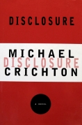 Chip Kidd Book Cover- Michael Crichton Disclosure