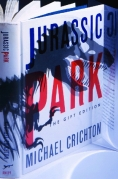 Book Cover - Michael Crichton Jurassic Park The Gift Edition