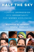 Chip Kidd Book Cover - Nicholas D Kristof Sheryl Wudunn Half The Sky Women Book