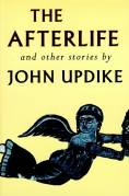 Chip Kidd Book Cover - The Afterlife and Other Stories by John Updike Book