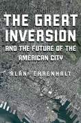 Chip Kidd Book Cover - The Great Inversion and the Future of the American City Alan Ehrenhalt Book