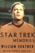 Book Cover- William Shatner Star Trek Memories Book